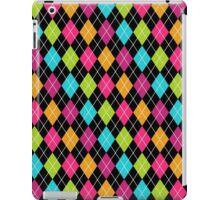Colorful Argyle iPad Case/Skin