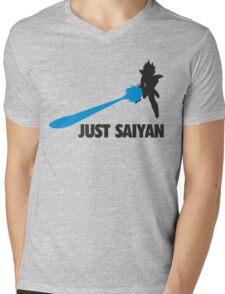 Just Saiyan T-shirt  Mens V-Neck T-Shirt