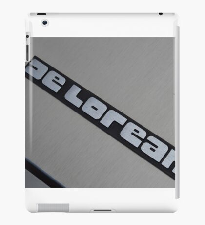 DELOREAN iPad Case/Skin