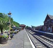 Bewdly Station, Severn Valley Railway by Phil Brown