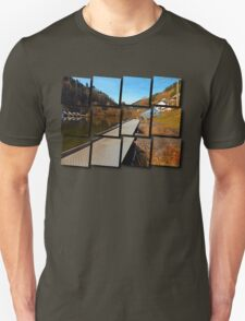 Where peaceful waters flow | landscape photography T-Shirt