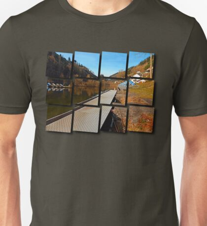 Where peaceful waters flow | landscape photography Unisex T-Shirt