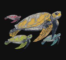 four tortugas Kids Tee