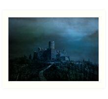 Castle of Vlad Art Print
