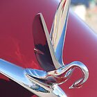 "1950 Packard Hood Ornament ""The Swan"" by TeeMack"