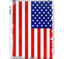 Abstract USA Flag iPad Case/Skin