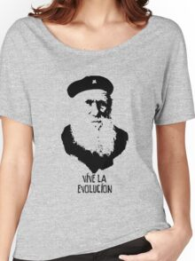 Charles Darwin - Vive la Evolucion! Women's Relaxed Fit T-Shirt