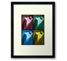 Calla Lily Collage #2 Framed Print