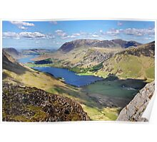 Buttermere and Crummock Water Poster