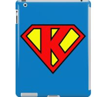 Super K iPad Case/Skin
