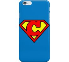 Super C iPhone Case/Skin