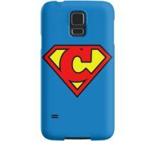 Super C Samsung Galaxy Case/Skin