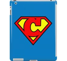 Super C iPad Case/Skin