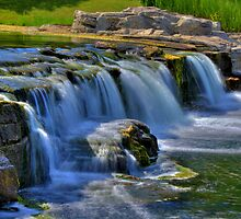 Waterfall 10 by John Absher