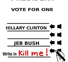Hillary vs. Jeb 2016 by sublimy99