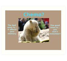 Chemo, Forgetful Polar Bear Art Print