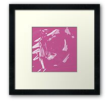 """Lady In Love"" Abstract Art / Avalon Media Framed Print"