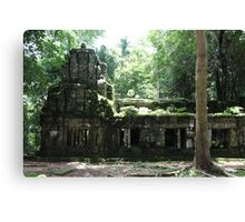 Ta Prohm Temple VIII - Angkor, Cambodia. Canvas Print