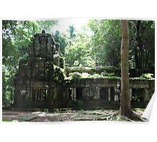Ta Prohm Temple VIII - Angkor, Cambodia. Poster
