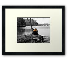 The Red Headed Stranger Framed Print