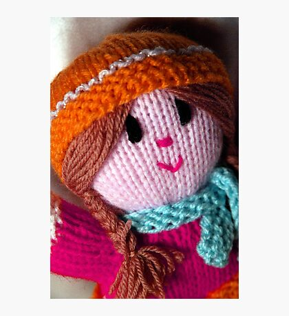 Knitted Doll Photographic Print