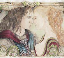 Romeo and Juliet by morgansartworld