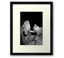 Story Time with Mickey- Shelter Art Framed Print