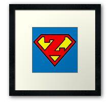 Super Z Framed Print