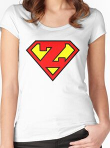 Super Z Women's Fitted Scoop T-Shirt
