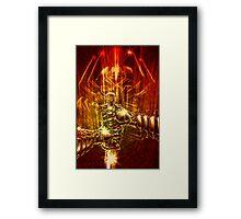 Samurai Swordstroke Framed Print