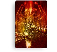 Samurai Swordstroke Canvas Print