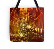 Samurai Swordstroke Tote Bag