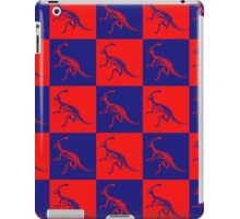 Dino Red Blue iPad Case/Skin