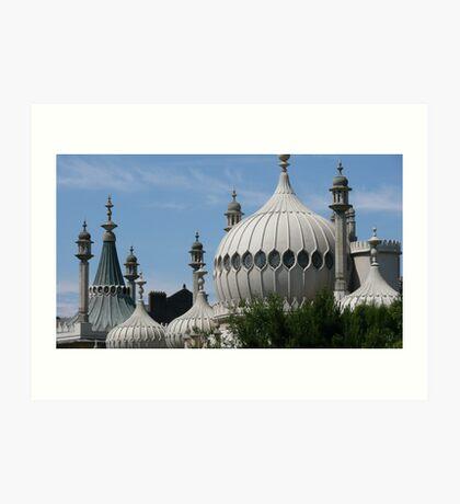 Domes & Minarets Art Print