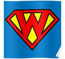 Super W Poster