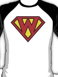 Superman Superboy Super W T-Shirt