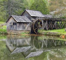 Mabry Mill, Southern Virginia by Fraser Musson
