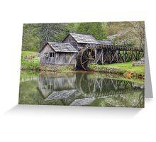 Mabry Mill, Southern Virginia Greeting Card