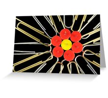 Office Flower Greeting Card
