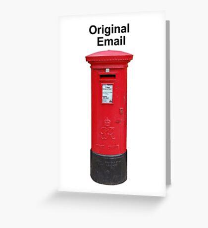Postbox Original Email Greeting Card