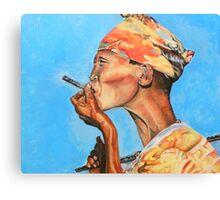 Just Smokin' Canvas Print