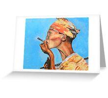 Just Smokin' Greeting Card