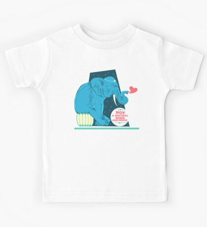 Not a natural born performer Kids Tee
