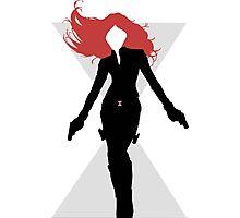 Black Widow Cut Out Design Photographic Print