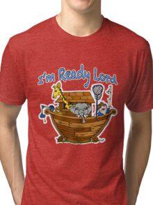 Noah before the flood  Tri-blend T-Shirt