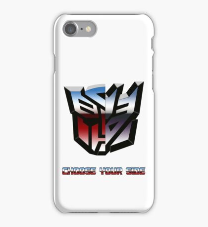 Transformers- Autobot/Decepticon iPhone Case/Skin