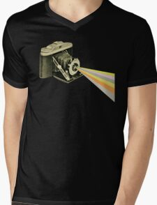 It's a Colourful World Mens V-Neck T-Shirt