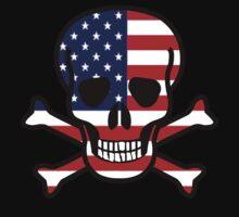 American Skull  by Rajee