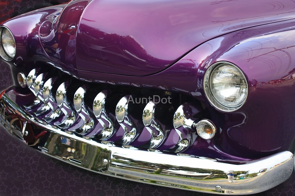 Purple and Chrome Dream by AuntDot