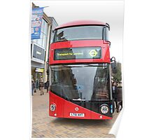 New London bus Prototype Poster